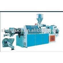 WPC bois Machine en plastique de granulation/pelletisation