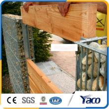 Prix professionnel de paniers de Gabion de la Chine, boîte galvanisée de gabion
