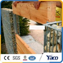 Preço das cestas de Gabion de China profissional, caixa galvanizada do gabion