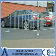 Fixed Foot Pedestrian Crowd Control Barriers Pack
