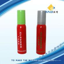 Limpador de lentes spray com cores diferentes