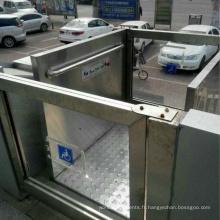 Ascenseur hydraulique d'occasion accessible aux personnes à mobilité réduite et aux personnes âgées