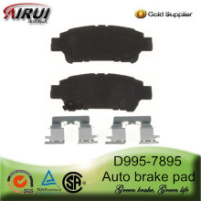 D995-7895 Auto Brake Pad for Toyota Sienna