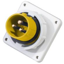 2014 Saip Nouvelle Haute Qualité Étanche IP67 110V 32A 6h 4 Pinh Socket Industriel et Plug Fabriqué en Chine
