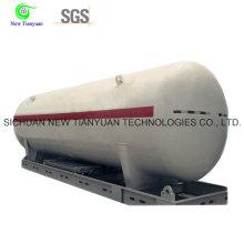 Contenedor de tanque criogénico de GNL licuado de gas natural con 30,4m3 de volumen
