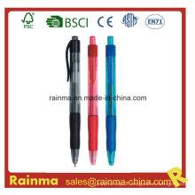 Caneta de tinta de gel retrátil para caneta de logotipo
