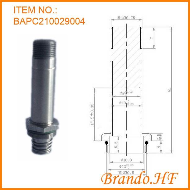 beverage machine solenoid valve plugnut