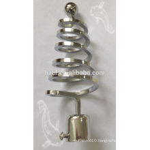 B19390 top sell modern European style curtain rod finials