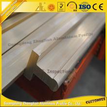 Profil en aluminium industriel de T-Slot avec des tailles et des couleurs adaptées aux besoins du client