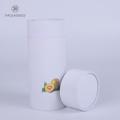 Custom CMYK cardboard cylinder tube