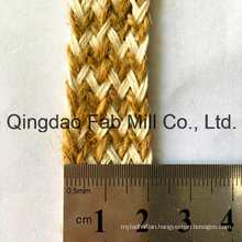 Jute Cotton Mixed Braided Webbing