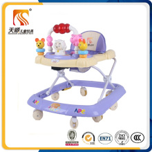 2016 China Outdoor Kunststoff Material Baby Walker