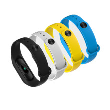 Monitor de frequência cardíaca Step Count Sports Bracelet