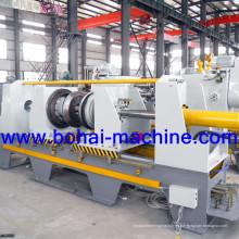 Máquina de bordar y rebordear para la fabricación de barril de acero