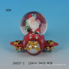 Lovely Santa Design Harz Schneekugel für Weihnachten