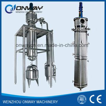 Destilador de Película Delgada Equipo de Destilación al Vacío Evaporador Rotativo Usado Máquina de Purificación de Aceite de Enfriamiento