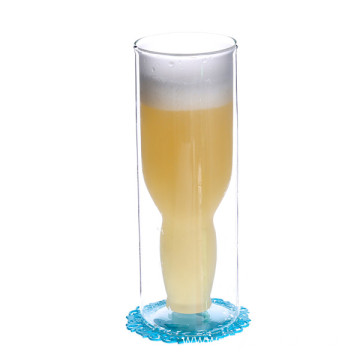 Large Capacity Glass Beer Cup