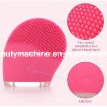 Ultrasonic Delicate Skin Electric Face Deeply Cleanser Vibrate Silicone Cleansing Brush Massager Waterproof Facial SPA Massage
