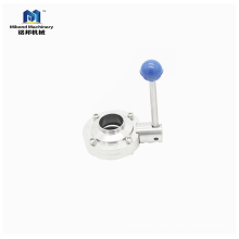Trade Assurance stainless steel  China manufacturer lug type butterfly valve