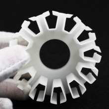 High precision 3D printing of plastic components