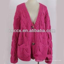 13STC5388 casaco de cashmere longo senhora