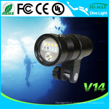 Tiroir de plongée à LED grand angle / angle HI-MAX 3000 lumen