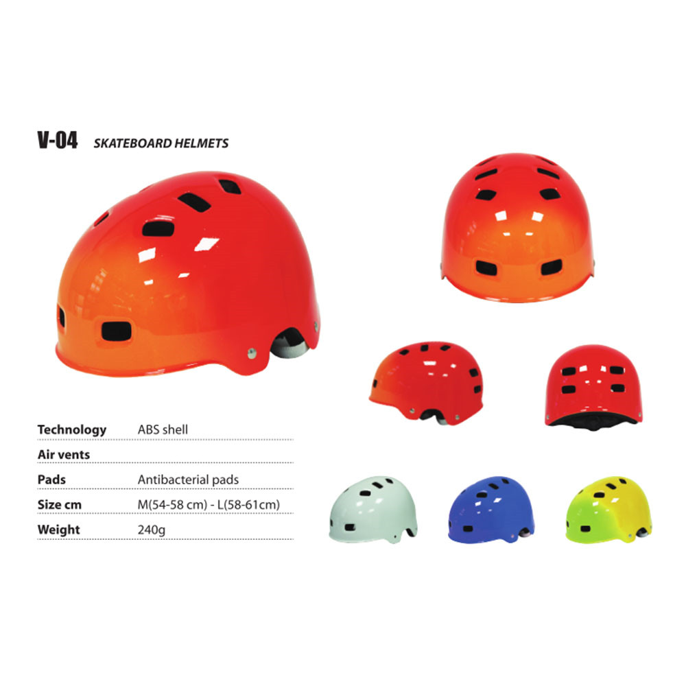 Bright Skateboard Helmet