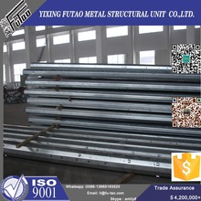Electric power transmission lines steel pole
