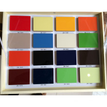 18mm Melamine MDF Panel Coated UV Board (zh-3919)