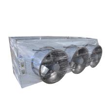 Evaporador Double the Wind Refrigerador de ar em aço inoxidável