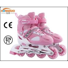Patins esportivos com rodas de skate com rolo de skate