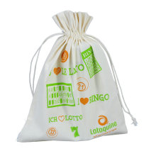 golf ball packaging cotton pouch with drawstring