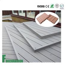 Revestimiento compuesto de plástico de madera al aire libre impermeable de WPC