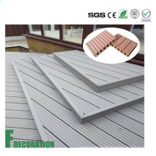 Decking composite en plastique en bois extérieur imperméable de WPC