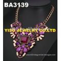 fashion gemstone necklace