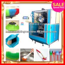 Machine à brosse automatique multifonction pour la fabrication de types de brosses