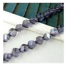 wholesale flower shaped twisted beads