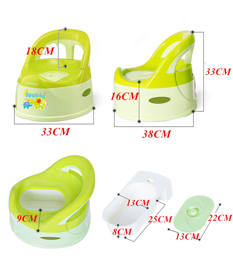 Plastic Potty Chair