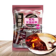 Haidilao Sichuan sabor sabor doble hotpot condimento