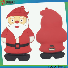Li-ion Battery Cute Cartoon Power Bank for Christmas Gift
