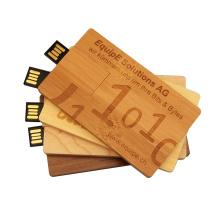 Promotion Gift  Wood card USB Flash Drive 1-64GB Capacity Wood USB Card usb disk