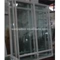 Janelas de vidro temperado de alumínio na china Janelas de vidro temperado de alumínio na china