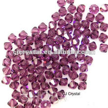 Granos de cristal bicone baratos, granos de cristal baratos de la bicona de la alta calidad