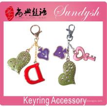 Accessoire pour porte-clés fait main