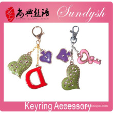 Lovely Handmade Letter Charms Keyring Accessory