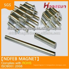 Super Strong sintered rare earth big ring ndfeb magnets filters