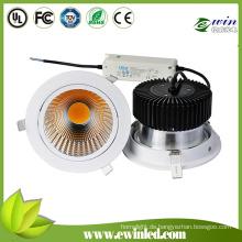 COB 30W LED Downlight mit Lifud LED Treiber