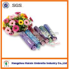 Mädchen Geschenke Chinesisch Faltung Regenschirm mit Blumen