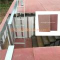 Tablero de piso de 18mm 20mm MgO de alta resistencia