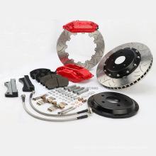 Pièces de freins modifiées pour roues Volkswagen GTI 17rim Amélioration des performances de freinage Kit de freins de course rouge WT-f40